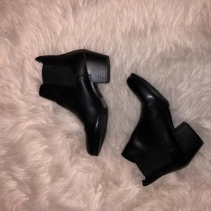 Forever 21 Faux leather booties